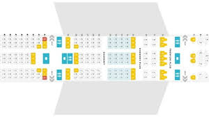 united airline seat map united