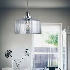 clear glass pendant lighting. drum shape clear glass mini pendant light lighting
