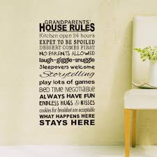 zy8240 new house rules in foreign trade english pr friendly removable wall stickers manufacturers wholesale wall sticker here a large number of suppliers  on house rules wall art suppliers with 2016 zy8240 grandparents house rule wall quote decal decor sticker