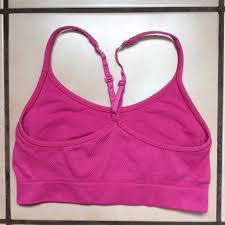 C9 Sports Bra Size Chart Hot Pink C9 By Champion Seamless Sports Bra It Has Depop