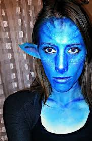 picture of avatar makeup transformation