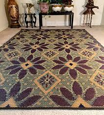 6 x9 indoor outdoor rugs reversible mats rv camping patio rug mat 20196