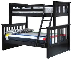 Brockton Twin over Full Bunk Bed with Twin Storage Trundle ...