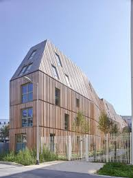Amazing Apartment Building In Paris Designed With A Twist - Modern apartment building facade