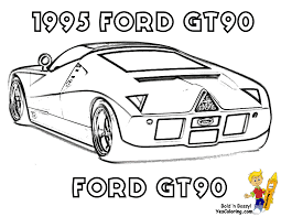 ford gt90 for coloring page boys at yescoloring