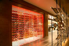 wine cellar lighting. Commercial Wine Cellar / Undercounter Glass Integrated Lighting - SHERATON ATAKOY ISTANBUL HOTEL E