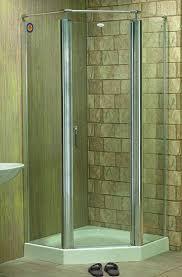 small corner shower stalls