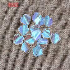 <b>100pcs</b>/<b>lot 8mm</b> red blue white colorful Sew On Stone Flatback ...