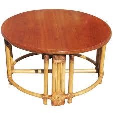 round wicker ottoman coffee table rattan wicker coffee table wicker patio table with glass top