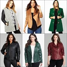 fashionable plus size coats for fall winter