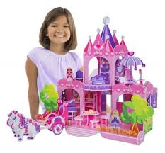 melissa-and-doug-pink-palace-3d-puzzle-gift- Cool Holiday Gift Ideas for Girls Ages 6 to 8 - Everyday Savvy