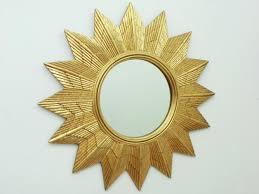 german golden starburst wall mirror 1970s 5 819 00 per piece