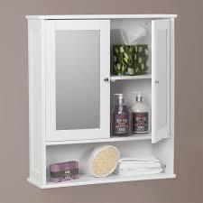 Imposing Ideas Bathroom Mirror Wall Cabinets Amazing Cabinet White