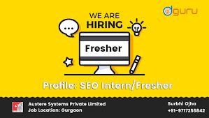 Seo Interns Digital Marketing Job Seo Smo Ppc Vacancy In Gurgaon