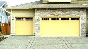 garage door trim black