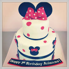 Black Red And White Minnie Mouse Alyssas Cakery