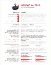 formato curriculo word plantillas para curriculum gratis en formato word