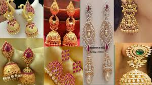 Buttalu Designs Gold Latest Gold Buttalu Jhumikilu Designs With Weight And Price 2019