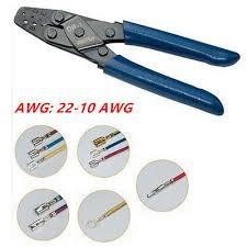 dr open barrel automotive terminal crimp tool wiring harness dr 1 open barrel autos crimp wire harness terminals crimper plier tool 22 10