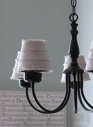 chandelier lamp shade tutorial 4
