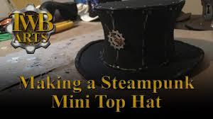 making a steampunk mini top hat tutorial