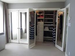 mirrored french closet doors. Doors, Exciting Mirrored French Closet Doors Bifold White Door Grey Wall Mirror O
