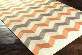 orange geometric rug indoor outdoor cream area and beige orange geometric rug
