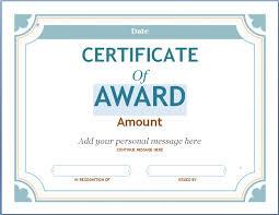 Free Printable Award Certificates For Work Teachers Soccer