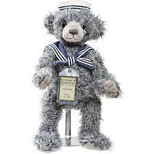 Teddy Bear Display Stands Samuel Silver Tag Bear by Suki Suki Gifts International 34