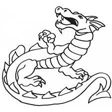 Disegno Di Dragon Da Colorare Per Bambini Disegnidacolorareonlinecom
