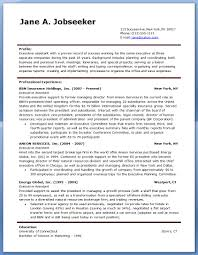 Executive Assistant Resume Examples Resume And Cover Letter