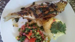 Znalezione obrazy dla zapytania Fish stuffed with vegetables