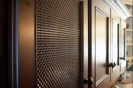 Wire Mesh For Cabinets Martis Camp Steel Woven Wire Mesh Cabinetry Banker Wire Project