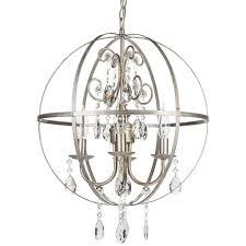 crystal orb chandelier sphere globed shaped chandeliers chandelier central