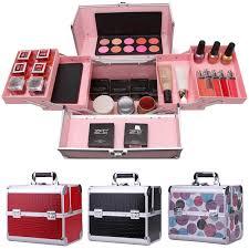 cosmetic bag professional makeup box cosmetic bag large capacity double box cosmetics makeup box varies