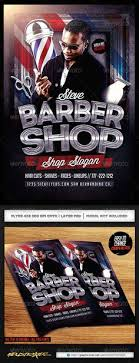 barber flyer barbershop flyer template flyer template barbershop and template