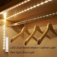 led closet lighting. Amagle Led Motion Sensor Night Light Battery Operated Closet Lighting 1M LED Strip Bed Stair .