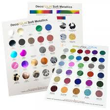 Heat Transfer Vinyl Samples Color Cards Color Charts