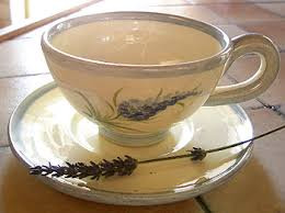 Decorating With Teacups And Saucers Hand made pottery set of 100 tea cups and saucers LAVENDER 57