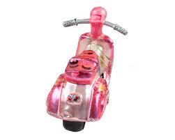 Christbaumschmuck Pink Flower Roller Vespa 50 125 Weihnachten