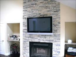 faux stone gas fireplace corner electric fireplaces