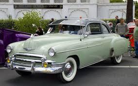 1950 Chevrolet Deluxe Coupe - dark green over light green - fvl ...