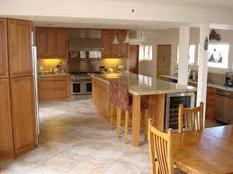 What color laminate flooring with oak cabinets Nepinetwork Kinggeorgehomescom Kitchen Oak Cabinets Honey Oak Laminate Floor