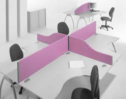 nice person office. Two Person Desk Home Office With Coolest Purple Devider And Nice Swivel Chair Design For Computer O