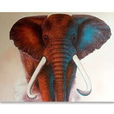 thailand elephant painting royal thai art