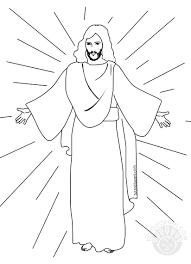 Immagine Di Gesù Risorto Da Colorare Per Bambini Tuttodisegnicom