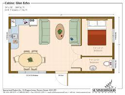 Unique Studio Pool House Floor Plans 14 X 40 With Loft Plan On Design Decorating