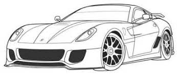 Coloring Pages Ferrari Coloring Pages Printable Coloring Kids