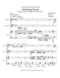 By johnmarch 10, 2014march 29th, 2016saxophone articles. Amazing Grace The Entertainer Trio For Alto Sax Tenor Sax And Piano Sheet Music Pdf Download Sheetmusicdbs Com