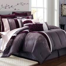 modern color block purple grey comforter set plum and gray beddi on macys duvet cover plum